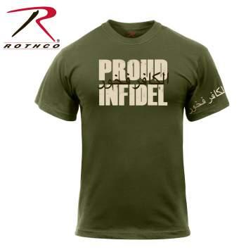Infidel t shirt, infidel t shirts, infidel shirt, infidel shirts, olive drab t shirt, olive drab shirt, infidel, infidel olive drab,