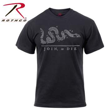 Rothco 'Join or Die' T-Shirt, Rothco join or die tshirt, Rothco join or die t shirt, join or die tshirt, join or die t shirt, join or die shirt, logo t shirts, Rothco graphic tshirts, Rothco graphic tees, Rothco graphic tee shirts, Rothco graphic t shirts, Rothco tshirt, Rothco tshirts, Rothco tee shirts, Rothco shirts, graphic tshirts, graphic tees, graphic tee shirts, graphic t shirts, tshirt, tshirts, tee shirts, shirts, vintage t shirts, graphic t shirts, novelty tshirts, join or die, revolutionary war, patriotic t-shirts,