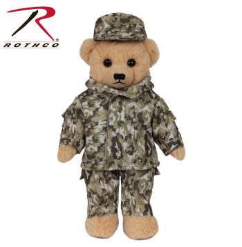 camo teddy bear, teddy bear, military soldier bear, toy bear,