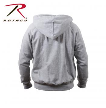 Rothco Thermal Lined Zipper Hoodie