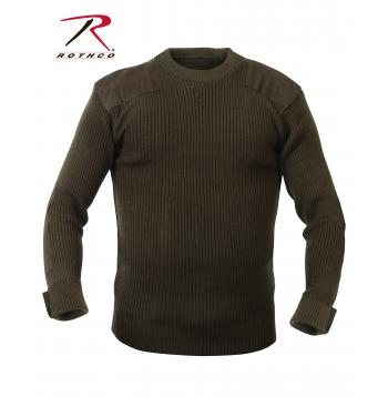 Rothco Commando Sweater,sweater,casual wear,outerwear,long sleeves,military sweaters,winter sweaters,cardigan,cardigan sweaters,acrylic sweaters,acrylic,black,navy blue,olive drab, military sweater, mens military sweater, acrylic sweater, commando sweater, army sweater, tactical sweater