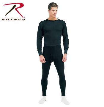 Rothco,Thermal,Underwear,Top,mens thermals,thermal wear,Thermal knit tops,thermal top,long johns,black,black thermal,thermal shirt,insulated underwear,woodland camo,camo thermal,Camo top,camo long johns,Olive,OD thermal,Natural,Natural thermal,cold weather