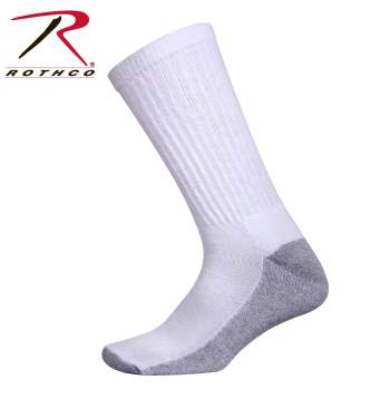 Rothco white crew socks with cushion sole, Rothco white crew socks, white crew socks with cushion sole, crew socks, white crew socks, white, white socks, socks with cushion sole, cushion sole, crew sock, mens crew socks, crew cut socks, cotton, cotton socks, cotton crew socks, socks, crew socks for men, cushioned socks, cushioned crew socks, tall socks, cushion sole socks, cushioned sole socks, mens crew socks white, white cushioned socks,