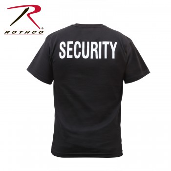 Rothco,t shirt print,tee shirt,short sleeve t shirt,short sleeve tee,tee shirts,t shirt,t-shirt,cotton tee,cotton tshirt,cotton t-shirt,poly tee,cotton poly t shirt,polyester cotton,black,black security t shirt,black security tee,black security short sleeve,black security tshirts,black security t-shirts,black security tees,black security short sleeve tshirts,black security short sleeve t-shirts,security short sleeve tshirts,security short sleeves