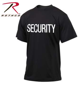 Quick Dry Performance Security T-Shirt, performance t-shirt, security t-shirt, performance security t-shirt, security, security clothing, security shirts, moisture wicking t-shirt, security moisture wicking t-shirt, public safety t-shirts, quick dry shirt, quick dry security shirt,