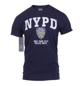 Rothco,t shirt print,graphic tee shirt,graphic tshirt,short sleeve t shirt,short sleeve tee,tee shirts,t shirt,t-shirt,cotton tee,cotton tshirt,cotton t-shirt,NYPD tshirt,NYPD t-shirt,NYPD short sleeve,vintage tees,navy blue tee,navy blue tshirt,navy blue t-shirt,NYPD,graphic tee,navy blue nypd