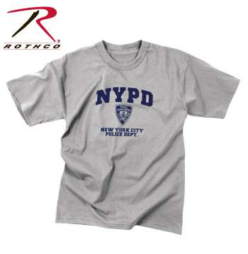 Rothco,Officially Licensed,NYPD,Physical Training,T-shirt,police nypd,ny shirt,nypd tshirts,gym shirts,cotton tees,cottom t shirts