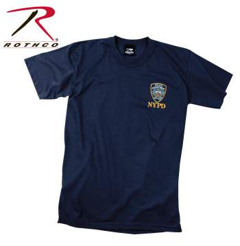 Rothco,Officially Licensed,NYPD,T-shirt,police nypd,ny shirt,nypd tshirts,gym shirts,cotton tees,cottom t shirts