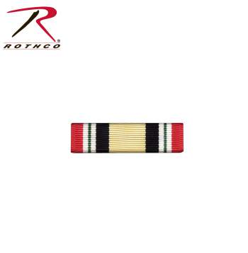 military ribbon, rothco military ribbon, Iraq Campaign Service, iraq ribbon, rothco, iraq, iraq campaign