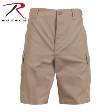 Rothco 7077 Khaki Rip-Stop BDU Shorts