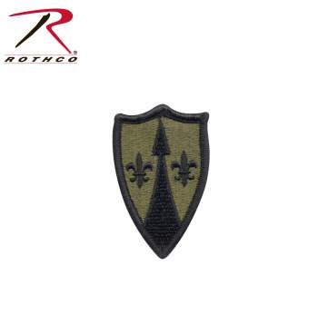 Rothco Patch - Us Theater Army Spt Cmd Europe, army patch, rothco, Europe, theater sustainment command, army support, support, command patch, military patches, GI patches,