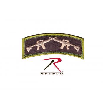 Rothco Crossed Rifles Patch With Hook Back, Rothco Crossed Rifles Patch, patch, patches, crossed rifles, airsoft patch, airsoft, airsoft patches, crossed rifle patch, hook back, morale patches, morale patch, airsoft morale patch, tactical morale patches, gun morale patches, velcro morale patch, hook and loop morale patch,