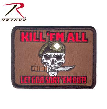 Rothco kill em all let god sort em out morale patch, Rothco em all let god sort em out patch, Rothco em all let god sort em out hook and loop patch, Rothco morale patch, Rothco morale patches, Rothco patch, Rothco patches, Rothco hook & loop, Rothco hook and look patches, hook and loop, hook & loop, em all let god sort em out  patch, em all let god sort em out morale patch, morale patch, morale patches, hook and loop patch, hook and loop patches, hook and loop morale patch, hook and loop morale patches, tactical patch, morale patches Velcro, kill em all, kill em, kill em all patch, kill em patch, airsoft, airsoft morale patches, airsoft morale patch, airsoft patches, airsoft velcro patch, airsoft velcro patches, velcro airsoft patches, airsoft kill em morale patch, airsoft kill em all patch, airsoft kill em all morale patch, military patches, tactical patches, tactical morale patches,