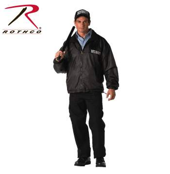 Rothco,Security,Reversible,Nylon,polar Fleece Jacket,work jacket,security jacket,work wear,law enforcement jacket,reversible jacket,zip up,uniform jacket, security guard jacket, security guard jackets, security jackets