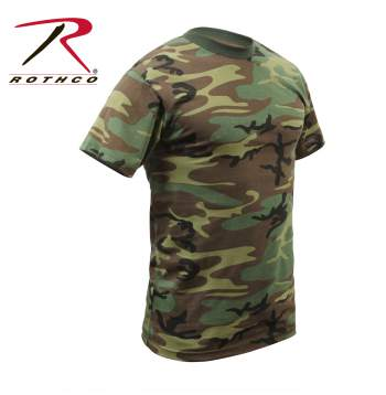 Rothco,t shirt print,tee shirt,short sleeve t shirt,short sleeve tee,tee shirts,t shirt,t-shirt,cotton tee,cotton tshirt,cotton t-shirt,poly tee,cotton poly t shirt,polyester cotton,woodland camo tshirt,woodland camo t-shirt,woodland camo short sleeve,woodland camo tees,woodland camo tee,camo tee,camouflage tee,woodland camo,heavyweight tshirt,heavyshirt t-shirt