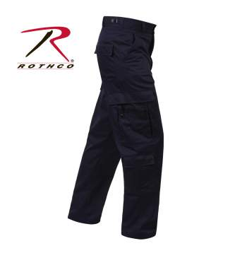 Midnight Navy Blue Navy Blue Details about  /Rothco EMT Pants Black