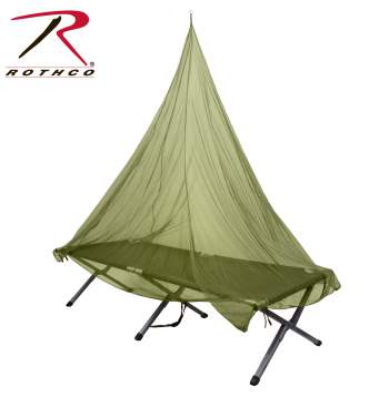 Rothco Single person mosquito net, Rothco mosquito net, single person mosquito net, mosquito net, polyester mosquito net, mosquito netting, camping gear, camping equipment, camping, outdoors, outdoor gear, outdoor netting, mosquito nets,  mosquito curtains, mosquito screen, insect netting, bug netting, bug nets, mosquito mesh, camping accessories, outdoor mosquito netting, camping mosquito net,