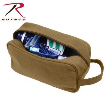 7663998f70 8126-Coyote-B.jpg View Rothco s Canvas Travel Kit. This travel pouch