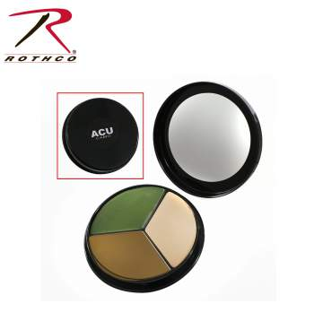 Face Paint Compact, 3 Color ACU Camouflage, face paint, face paint camo, face paint camouflage, camouflage paint, camo paint, paint camo, pattern camo, acu face paint camo, acu camouflage