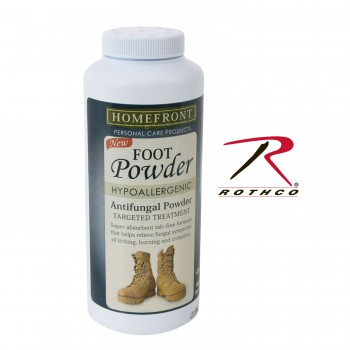 Foot powder,antifungal,powder,footpowerder,military issue foot powder,boot powder,shoe powder,