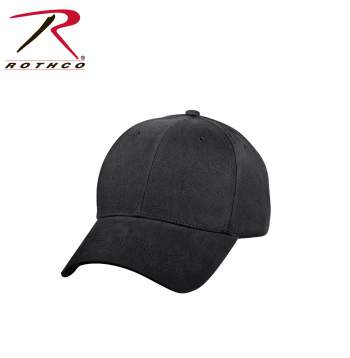 Rothco Supreme Solid Color Low Profile Cap, baseball cap, baseball hat, supreme low profile cap, low pro cap, mens hats, mens baseball style cap, cap, hat, black caps, safety green caps, tan caps, green caps, olive drab caps, navy caps, brown caps, coyote brown caps,