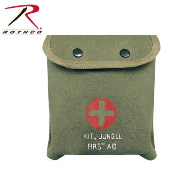 first aid, first aid kit, pouch, m-1 jungle first aid kit, jungle