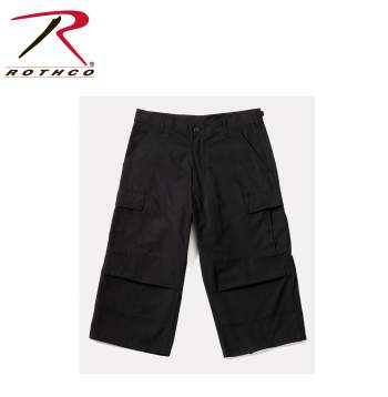 mens capris, three quarter pants, cropped pants, 6 pocket pants, fatigue pants, cargo capri pants, mens cargo pants, 3/4