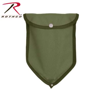 Rothco canvas tri-fold shovel cover, Rothco canvas shovel cover, canvas tri-fold shovel cover, canvas shovel cover, trifold canvas shovel cover, trifold shovel cover, olive drab shovel cover, olive drab trifold shovel cover, canvas, camping, camping shovel cover, camping tools, camping equipment, outdoor gear, military shovel, army shovel, survival, military, army, tactical, army shovel cover, shovel tools, survival shovel tools, survival shovel cover, trench tool, outdoor tools