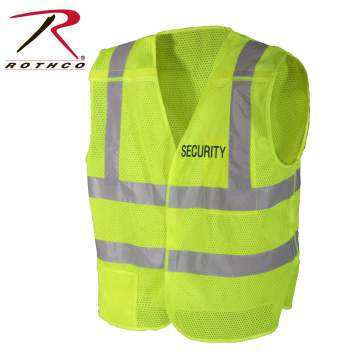 rothco 5-point breakaway vest - security, 5 point breakaway vest,vest, security vest,security 5 point breakaway vest, breakaway vest, safety vest, security safety vest, reflective safety vest, security vests, 5 point breakaway safety vest, hi vis vest, tactical hi vis vest, public safety vest, safety apparel, high visibility vest, reflective vest,
