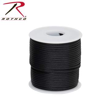 Rothco 95lb Micro Cord 100ft Spool, Rothco 95lb Type I Micro Paracord – 100ft, micro cord, micro cord paracord, micro paracord, paracord micro, type I paracord, type 1 paracord, paracord 100 type 1, type 1 paracord, thin paracord, paracord, survival paracord, paracord survival, parachute paracord, parachute cord, 95lb cord, survival line, survival rope, 100ft paracord, 100 ft cord, military parachute cord, military surplus parachute cord, military paracord, military issue paracord, outdoor paracord