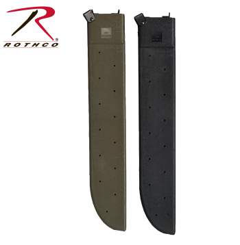 GI Type Machete Sheath,government issue Machete Sheath,sheaths,machete,machetes,machete sheaths,silver,rothco,cover,machete cover,black