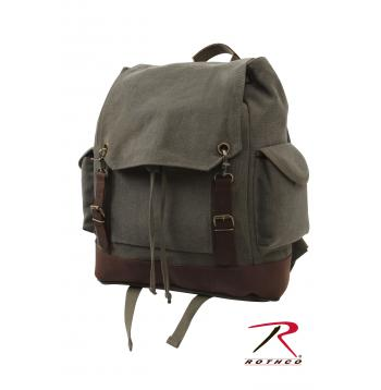 Rothco Vintage Expedition Rucksack, rothco, vintage expedition rucksack, rucksack, vintage rucksack, rothco rucksack, back pack, bag, bags, rucksacks, backpack, back packs, backpacks, vintage rucksacks, rothco canvas bags, rothco rucksack, rothco canvas rucksack, rothco bags