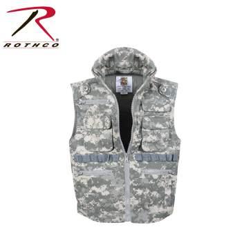 Kids Ranger Vest,kids vest,ranger vests,military vests for kids,travel vests,boys ranger vests,camo vests,boys camo vests,childrens camo vests,,childrens black vests,childrens ACU camo vests