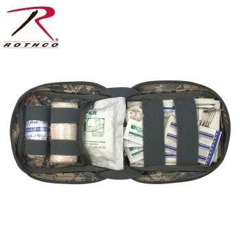 Rothco MOLLE Tactical Trauma Kit, first aid kit, tactical first aid kit, molle first aid kit, tactical trauma kit, first aid essentials, military first aid kit, camping first aid kit, molle pouch, molle gear, molle tactical first aid kit, molle first aid pouch, first aid pouch, trauma kit, military trauma kit, first aid supplies, first aid, trauma bag, trauma pouch, tactical pouch