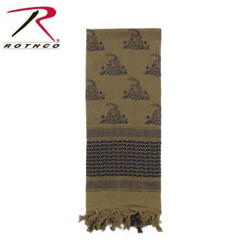 shemagh, tactical scarf, scarfs, military scarfs, military shemagh, shemagh, desert scarf, tactical desert scarf, tactical scarf, rothco shemagh,  tactical shemagh, combat scarf, military scarf, wholesale shemaghs, shooting accessories, keffiyeh, kufiya, ghutrah,snake shemagh, DTOM, Don't tread on me, Gadsden flag, gadsen snake, Gadsden