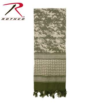 Rothco tactical shemagh, tactical shemagh, shemagh, desert scarf, tactical desert scarf, tactical scarf, rothco shemagh,  tactical shemagh, combat scarf, military scarf, wholesale shemaghs, shooting accessories, keffiyeh, kufiya, ghutrah, shemaghs, 88537, military shemagh scarf, acu
