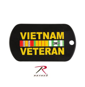 Rothco Dog Tag Vietnam Veteran, dog tag, dog tags, rothco, vietnam veteran, military dog tags, military dog tag