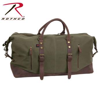 Rothco Extended Weekender Bag, weekender bag, weekend bag, canvas weekender bag, canvas travel bag, canvas weekend bag, weekender bag for men, weekender bags, weekend bag for men, travel bag, canvas bag, vintage bag, Luggage Bag, Travel Luggage, Traveling Bag, Trip Bag, oversized travel bag, oversized bag