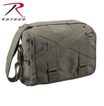 messenger bag, canvas messenger bag, shoulder bag, military canvas bag, military messenger bag, outback messenger bag,  vintage messenger bag, vintage canvas bag, vintage military messenger bag, crossbody bags, cross body bags, rothco bags, rothco messenger bags, rothco canvas bags