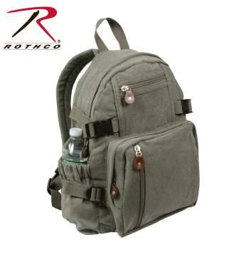 Canvas Backpackcanvas Back Packmini Backpackmini