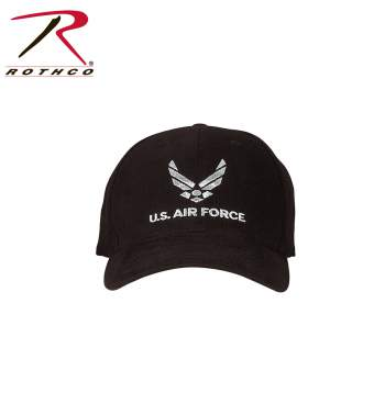 Rothco Low Profile Cap,tactical cap,tactical hat,rothco Low Profile hat,cap,hat,black Low Profile cap,Low Profile cap,sports hat,baseball cap,baseball hat,air force,air force cap,air force hat,air force low profile cap,black air force low profile cap,us air force low profile cap,us airforce gear