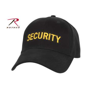 Rothco Security Supreme Low Profile Insignia Cap, Rothco, Security, Supreme Low Profile, Insignia Cap, security hat, security cap, adjustable hat, adjustable security hat, low pro insignia cap, low pro hat, rothco security hat, embroidered security hat, security uniform, security accessories, security clothing, tactical hat, officer hat, security headwear, security guard hat, tactical ball cap, security ball cap