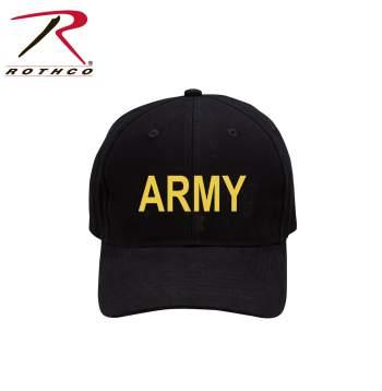 Rothco Low Profile Cap,tactical cap,tactical hat,rothco Low Profile hat,cap,hat,black Low Profile cap,Low Profile cap,sports hat,baseball cap,baseball hat,army,army cap,army hat,army low profile cap,black army low profile cap