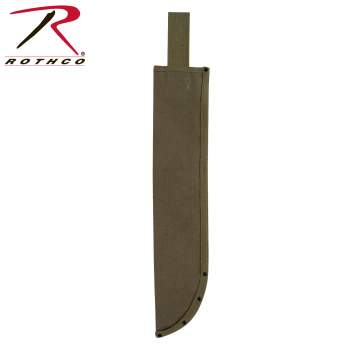 Machete Sheath, sheaths, machete, machetes, machete sheaths, olive drab, rothco, cover, machete cover