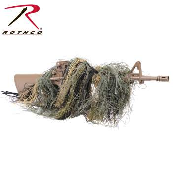 Rothco Lightweight Rifle Rag Cover, Rothco Rifle Rag Cover, Rothco Lightweight Rifle Cover, Rothco Rifle Cover, Lightweight Rifle Rag Cover, Rifle Rag Cover, Lightweight Rifle Cover, Rifle Cover, rifle covers, rifle accessories, gun cover, lightweight rifle covers, lightweight rifle accessories, lightweight gun covers, tactical, tactical gear, shooting gear, ghillie gun cover, ghillie wrap, ghillie, ghillie rifle cover, rifle wrap