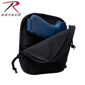 Concealed Carry Pouch, MOLLE, M.O.L.L.E, pouches, military pouches, military pouch, tactical pouches, tactical gear, tactical accessories, shooting accessories, shooting gear, shooting equipment, tactical equipment, MOLLE equipment, M.O.L.L.E  pouch, tactical airsoft gear, airsoft, airsoft equipment, airsoft accessories, air soft, soft air, air-soft, concealment pouch, concealment, Rothco MOLLE Concealed Carry Pouch, rothco concealed carry, concealed carry, cc pouch, molle pouch, molle concealed carry pouch, tactical pouch, discreet carry