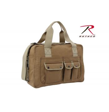 Rothco Two Tone Specialist Carry All Shoulder Bag, Rothco shoulder bag, Rothco two tone shoulder bag, two tone specialist carry all shoulder bag, shoulder bag, shoulder bags, duffle bag, bag, bags, Rothco bags, shoulder bags for school, two tone bags, mens shoulder bags, shoulder bags for women, gym bags, gym shoulder bag, gym duffle bag, travel bag, womens duffle bag,  duffle bags for men, shoulder bags for men, sports duffle bag, sports bag, small duffle bag, mens duffle bags, military shoulder bag, messenger bag, canvas messenger bag, canvas shoulder bag, two tone canvas bag, two tone messenger bag, canvas bag, mocha, coyote,