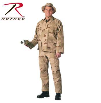 Rothco Tri-Color Desert S.W.A.T. Cloth B.D.U. Pants, swat, tri color, bdu, bdu pants, rothco pants, camo pants, battle dress uniform, cargo pants, tri color desert, tri-color desert camo, tri-color desert bdu pants