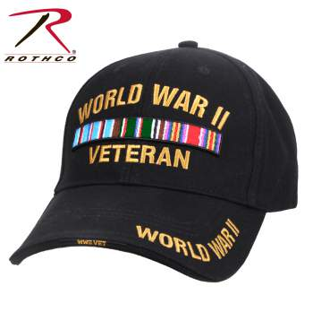 rothco wwii veteran deluxe low profile cap, wwii veteran low profile cap, low profile cap, tactical cap, cap, baseball hat, wwii cap, wwii hat, deluxe low profile cap, world war 2 veteran hat, veteran gifts, world war two hat