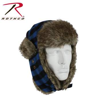 Rothco Plaid Fur Flyer's Hat, Rothco fur flyer's hat, Rothco fur flyers hat, Rothco hats, Rothco hat, plaid fur flyers hat, plaid, plaid hat, fur flyers hat, Fur Flyers Cap, military hats, winter cap, winter hat, flyer hat, fur hats, flyers hat, fur hat, red plaid flyers hat, red plaid flyers cap, blue plaid flyers hat, blue plaid flyers cap, white plaid flyers hat, white plaid flyers cap, winter hats, earflap hat, earflap hats, hat with ear flaps, cold weather gear, cold weather clothing, winter gear, winter clothing, winter accessories , headwear, winter headwear,